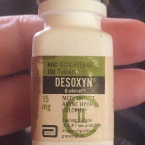 DESOXYN 5 MG