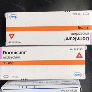 Buy Dormicum (Midazolam) 15 mg online