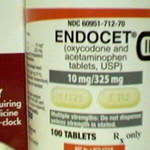Buy ENDOCET 10 MG/325 MG